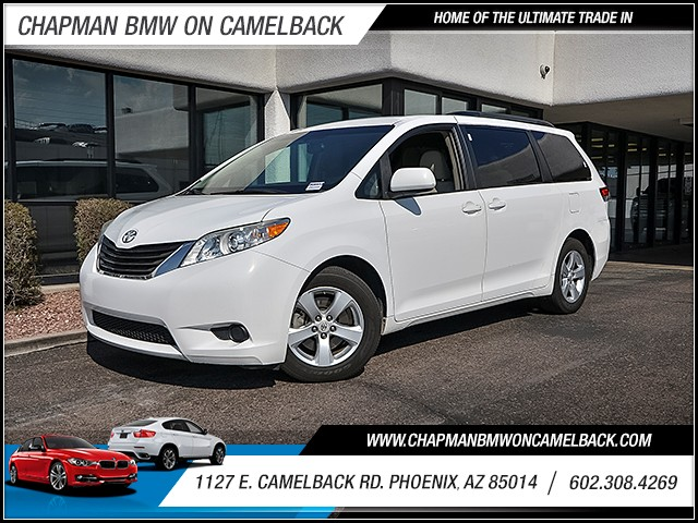 2012 Toyota Sienna LE 8-Passenger 86125 miles Chapman Value Center on Camelback is specializing i