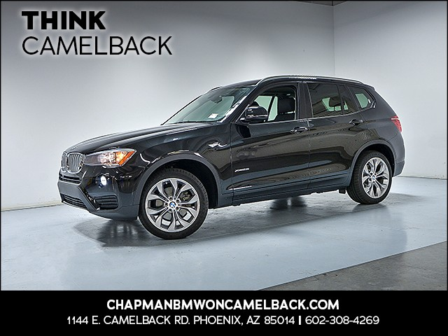 2016 BMW X3 xDrive28i 6566 miles Why Camelback Chapman BMW on Camelback is the Centrally locate
