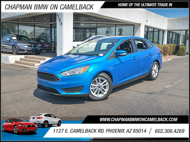 2015 Ford Focus SE 1340 miles Wireless data link Bluetooth Cruise control Anti-theft system al