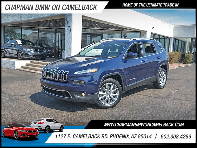 2014 Jeep Cherokee Limited 42395 miles Phone hands free Wireless data link Bluetooth Cruise con
