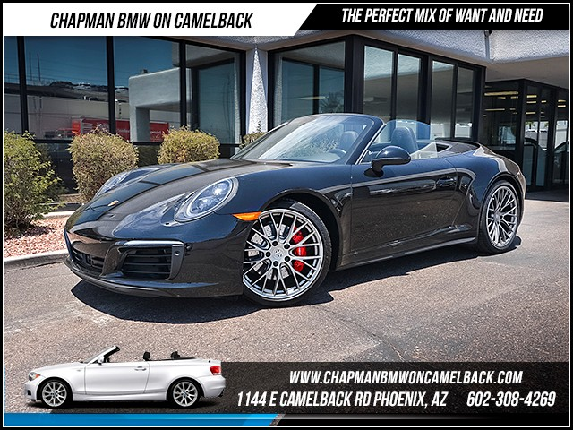 2017 Porsche 911 Carrera 4S 4733 miles 6023852286 1127 E Camelback Rd Summer Monsoon Sales Ev