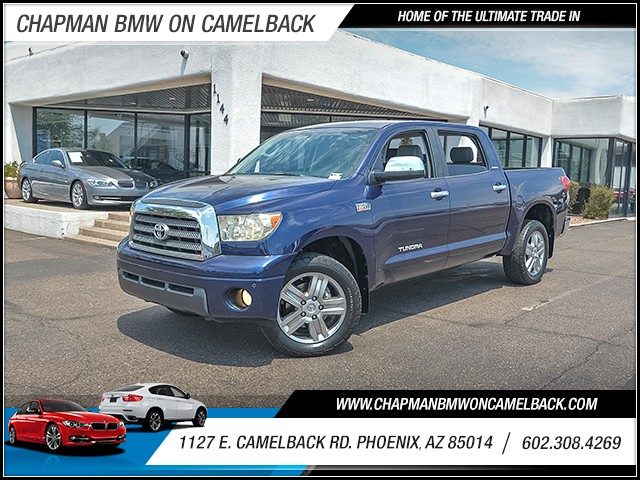 2007 Toyota Tundra Limited Crew Cab 96625 miles Wireless data link Bluetooth Cruise control Ant