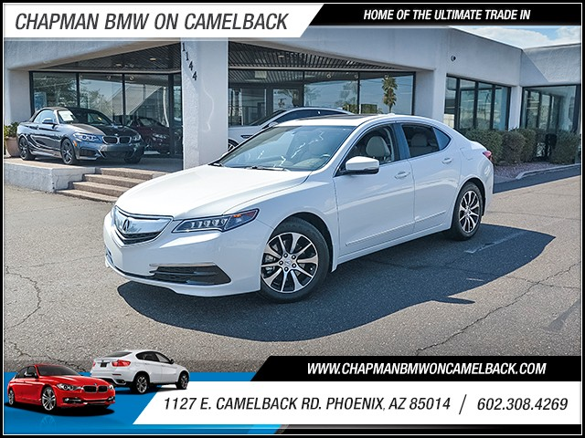2015 Acura TLX 14639 miles Wireless data link Bluetooth Cruise control 2-stage unlocking doors