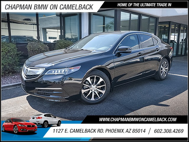 2015 Acura TLX wTech 37106 miles Real time traffic Wireless data link Bluetooth Cruise control