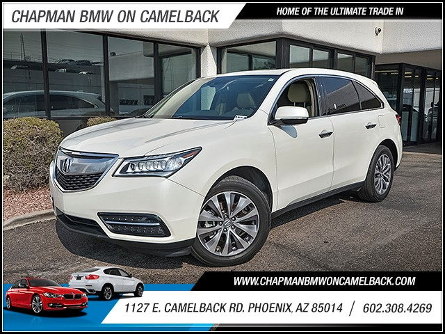 2014 Acura MDX wTech 79730 miles Chapman Value Center on Camelback is specializing in late model