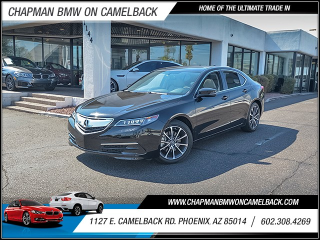 2015 Acura TLX 24477 miles Wireless data link Bluetooth Cruise control 2-stage unlocking doors