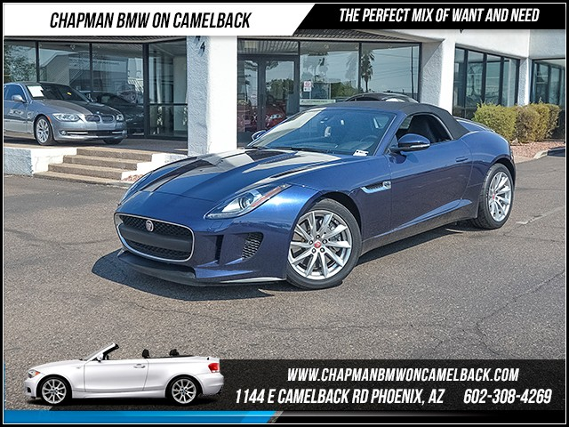 2015 Jaguar F-TYPE 11528 miles Wireless data link Bluetooth Cruise control Navigation system A
