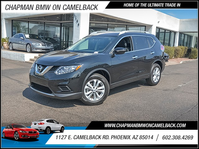 2015 Nissan Rogue SV 16342 miles Wireless data link Bluetooth Cruise control 2-stage unlocking