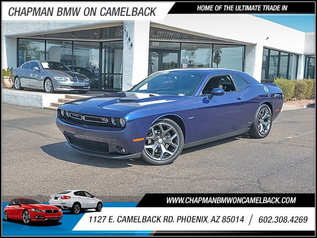 2015 Dodge Challenger RT 13165 miles 6023852286 1127 E Camelback Rd Summer Monsoon Sales Eve