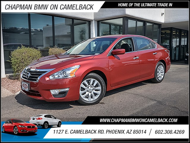 2015 Nissan Altima 25 S 43402 miles Wireless data link Bluetooth Cruise control Anti-theft sys