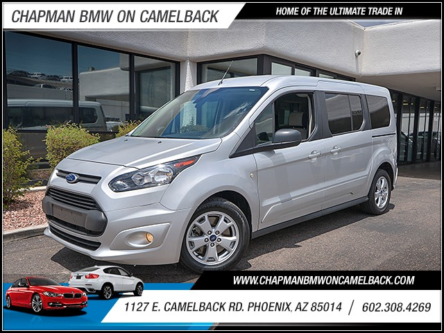 2015 Ford Transit Connect Wagon XLT 36533 miles Phone pre-wired for phone Cruise control Power