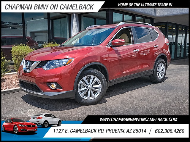 2015 Nissan Rogue SV 15413 miles Wireless data link Bluetooth Electronic messaging assistance C