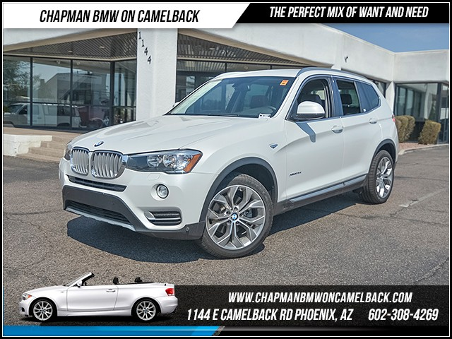 2016 BMW X3 xDrive28d 53148 miles 6023852286 Chapman BMW on Camelback CPO Sales Event Ove