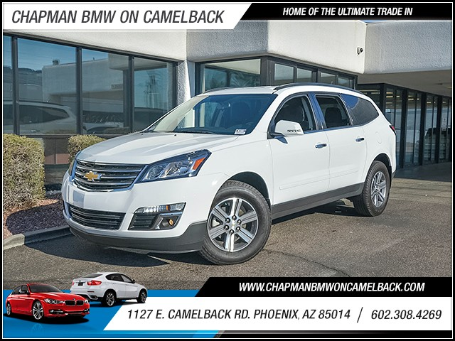 2017 Chevrolet Traverse LT 15409 miles Chapman Value Center on Camelback is specializing in late