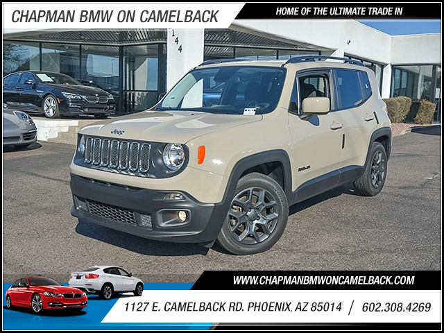 2015 Jeep Renegade Latitude 32005 miles Chapman Value Center on Camelback is specializing in late