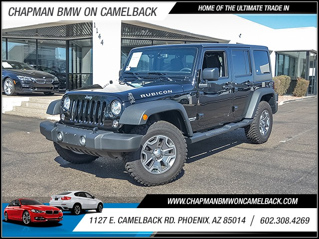 2017 Jeep Wrangler Unlimited Rubicon 1490 miles Chapman Value Center on Camelback is specializing