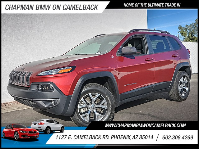 2014 Jeep Cherokee Trailhawk 12020 miles 6023852286 Chapman Value Center in Phoenix speciali