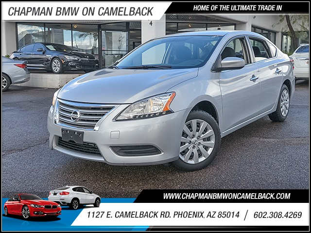 2014 Nissan Sentra SV 44436 miles 6023852286 1127 E Camelback Rd Chapman Value center on Ca