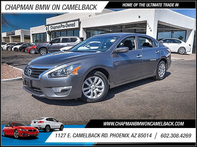 2015 Nissan Altima 25 S 47168 miles 6023852286 1127 E Camelback Rd Chapman Value center on
