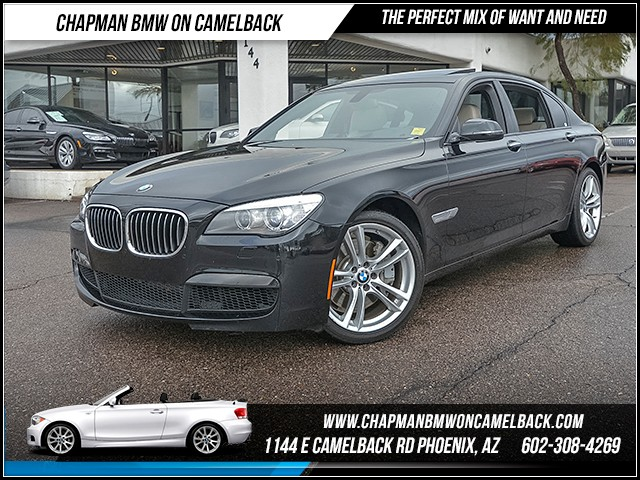 2014 BMW 7-Series 750Li 24440 miles 6023852286 - 12th St and Camelback Chapman BMW on Camelbac