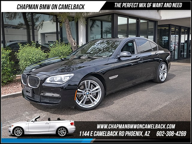 2015 BMW 7-Series 740i 30729 miles M Sport Package Executive Package Driving Assistance Package