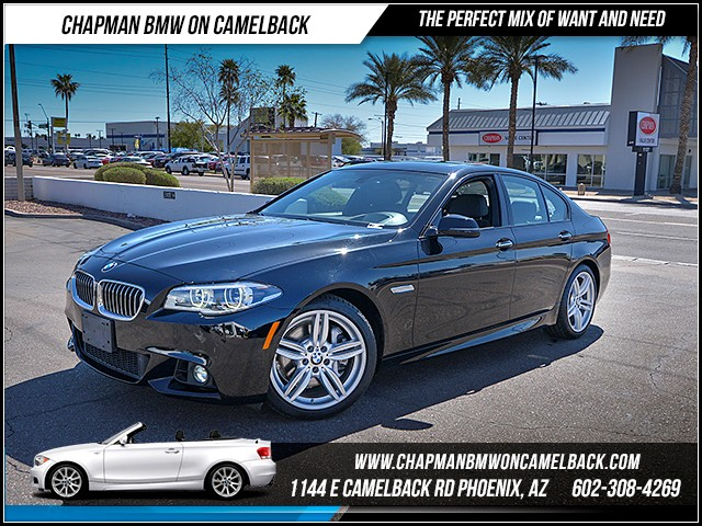 2014 BMW 5-Series 535i 45122 miles 6023852286 - 12th St and Camelback Chapman BMW on Camelback