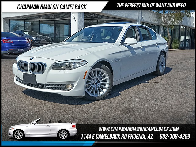 2013 BMW 5-Series 535i 37195 miles Real time traffic Phone hands free Wireless data link Blueto