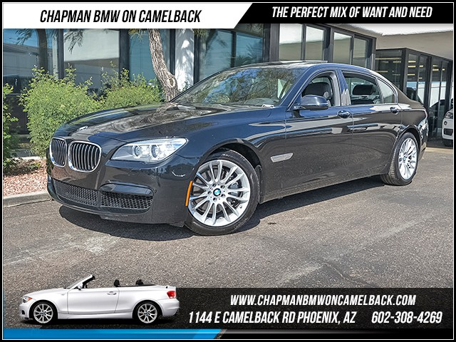 2014 BMW 7-Series 740Li 17853 miles Executive Package M Sport Package Sport Package Satellite