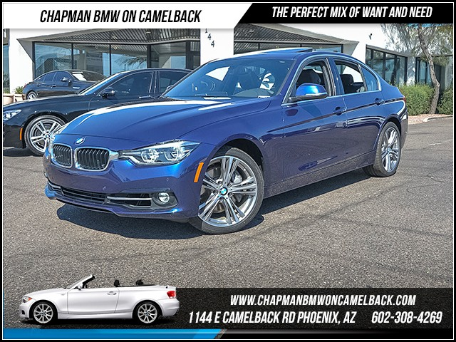 2016 BMW 3-Series 340i 9533 miles Sport Package Technology Package Driving Assistant Package L