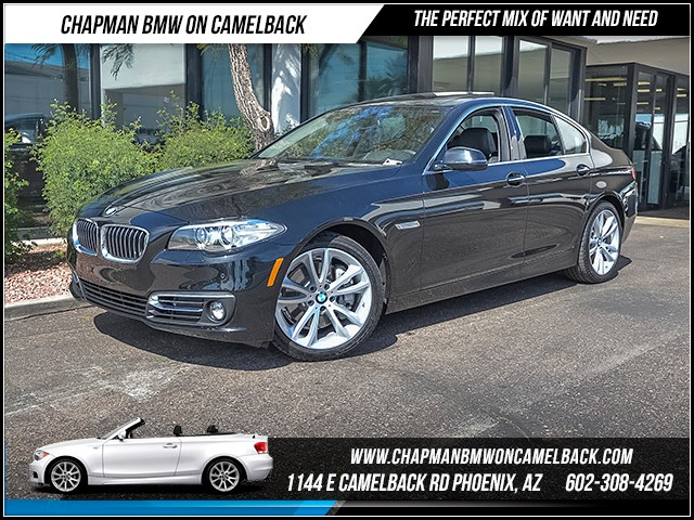2016 BMW 5-Series 535i 5944 miles Luxury Line Premium Package Driving Assistance Package Harma