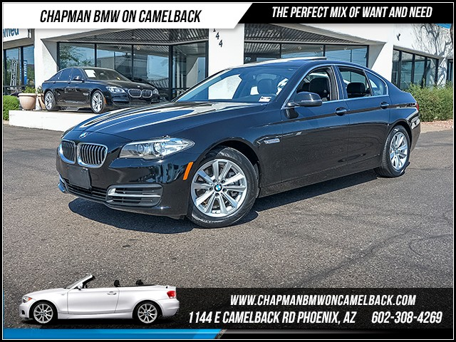 2014 BMW 5-Series 528i 35878 miles Satellite communications BMW Assist Real time traffic Phone