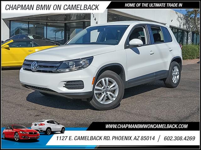 2013 Volkswagen Tiguan S 34367 miles 6023852286 1127 E Camelback Rd Chapman Value center on