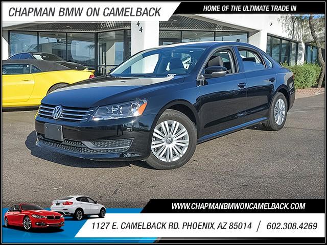 2015 Volkswagen Passat S PZEV 16784 miles 6023852286 1127 E Camelback Rd Chapman Value cente
