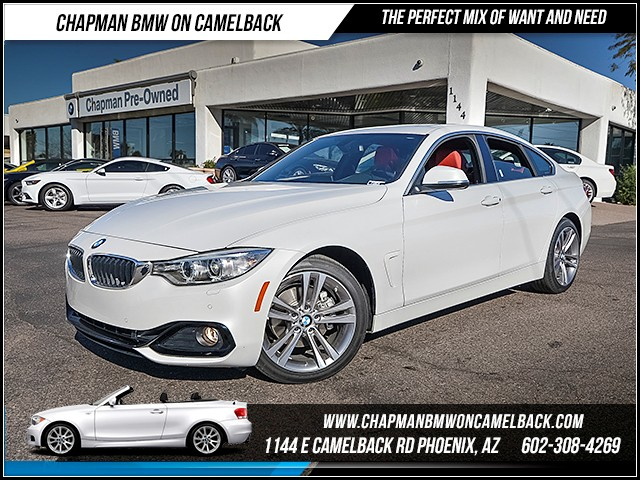 2017 BMW 4-Series 430i Gran Coupe 7190 miles 6023852286 - 12th St and Camelback Chapman BMW on