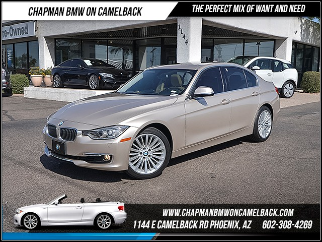 2013 BMW 3-Series Sdn 328i 30038 miles Luxury Line Premium Package Technology Package Cold Wea