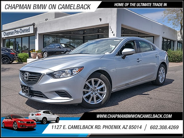 2016 Mazda MAZDA6 i Sport 36343 miles 6023852286 1127 E Camelback Rd Chapman Value center on