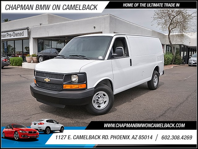 2016 Chevrolet Express Cargo 2500 4331 miles Anti-theft system audio security system Anti-theft