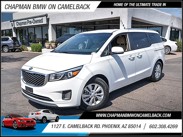 2016 Kia Sedona LX 37983 miles 6023852286 1127 E Camelback Rd Chapman Value center on Camelb