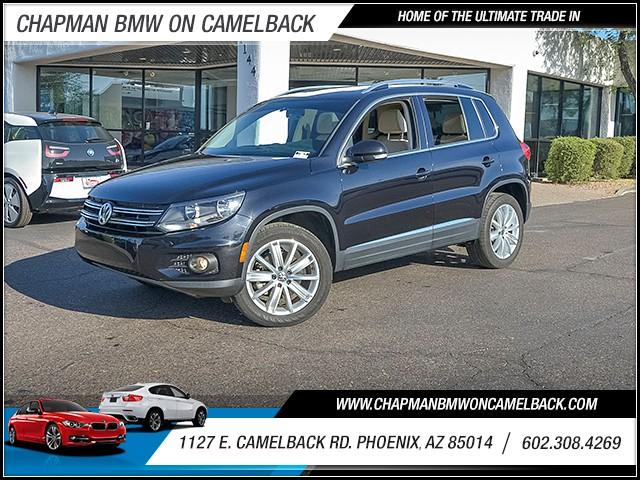 2013 Volkswagen Tiguan SEL 57573 miles 6023852286 1127 E Camelback Rd Chapman Value center o