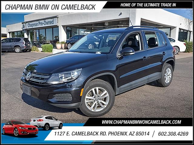 2016 Volkswagen Tiguan 20T S 20313 miles 6023852286 1127 E Camelback Rd Chapman Value cente