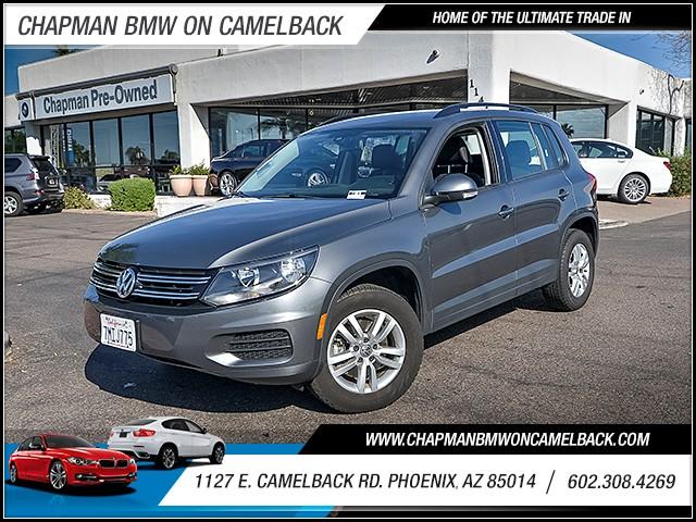 2016 Volkswagen Tiguan 20T S 21804 miles 6023852286 1127 E Camelback Rd Chapman Value cente