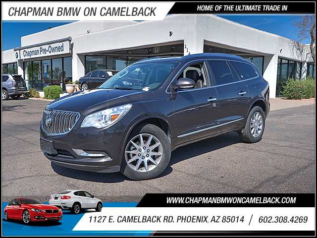 2016 Buick Enclave Leather 38597 miles 6023852286 1127 E Camelback Rd Chapman Value center o