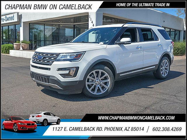 2016 Ford Explorer Limited 36373 miles 6023852286 1127 E Camelback Rd Chapman Value center o