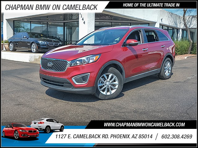 2016 Kia Sorento LX 41561 miles 6023852286 1127 E Camelback Rd Chapman Value center on Camel