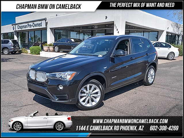 2017 BMW X3 sDrive28i PremTechDriver Assis 9725 miles 6023852286 - 12th St and Camelback Cha
