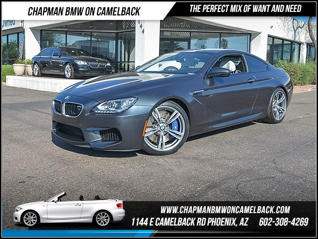 2013 BMW M6 11409 miles 6023852286 - 12th St and Camelback Chapman BMW on Camelback March Mani