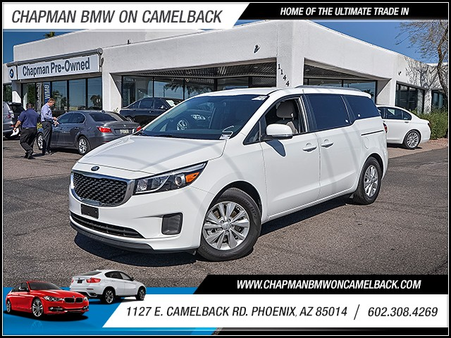 2016 Kia Sedona LX 25097 miles 6023852286 1127 E Camelback Rd Chapman Value center on Camelb