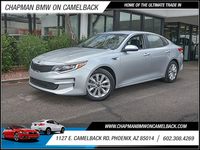 2016 Kia Optima LX 23064 miles 6023852286 1127 E Camelback Rd Chapman Value center on Camelb