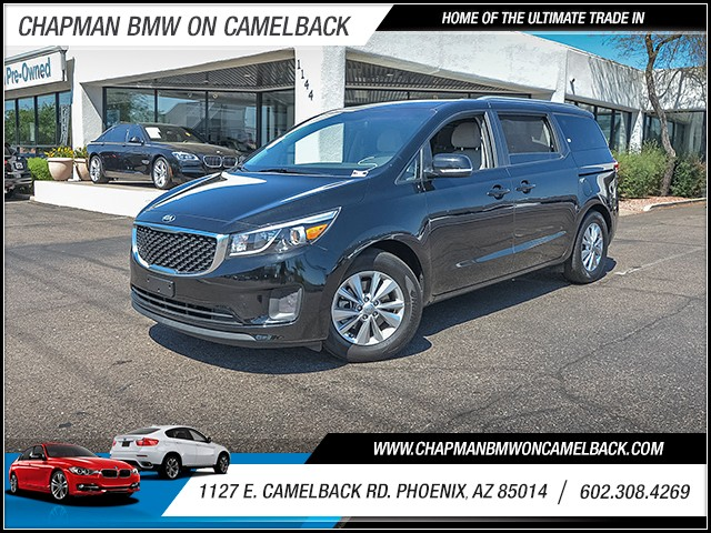 2016 Kia Sedona LX 24339 miles 6023852286 1127 E Camelback Rd Chapman Value center on Camelb