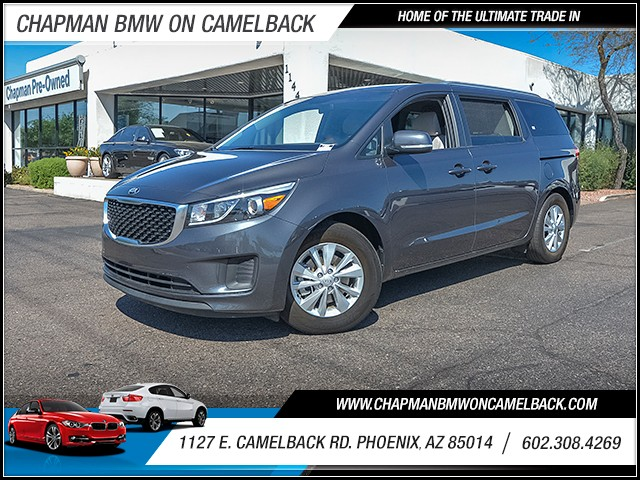 2016 Kia Sedona LX 23620 miles 6023852286 1127 E Camelback Rd Chapman Value center on Camelb